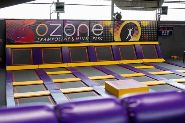Ozone Trampoline and Ninja Park in Esch Sur Alzette - Swiftr partner