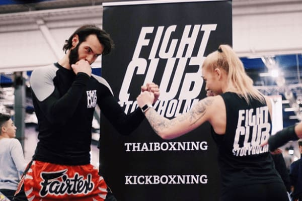 FightClub Stockholm - Swiftr partner