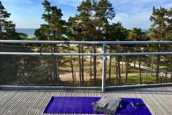 Rooftop Yoga Falsterbo - Swiftr partner