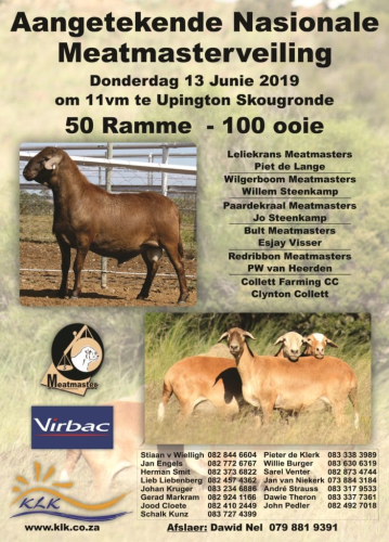 livestock auction listing Meatmasterveiling