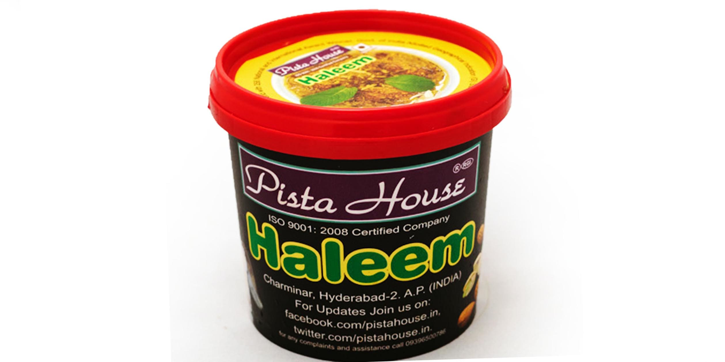 Haleem Container from Pista House. Courtesy: Swiggy