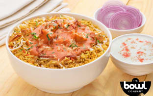Flat 50% off on all dishes at The Bowl Company