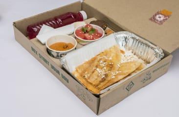 Paneer Dosa Breakfast Box