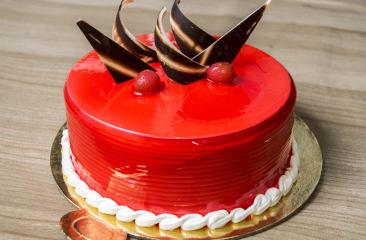 Strawberry Cake Per Kg