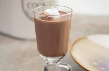 poetry by love and cheesecake hot chocolate