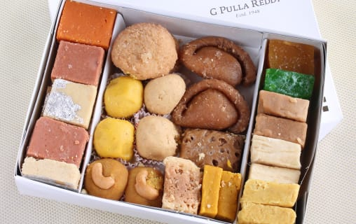 G  Pulla Reddy Sweets | Home delivery | Order online