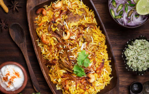 Flat 60% Off on Biriyani and FastFood