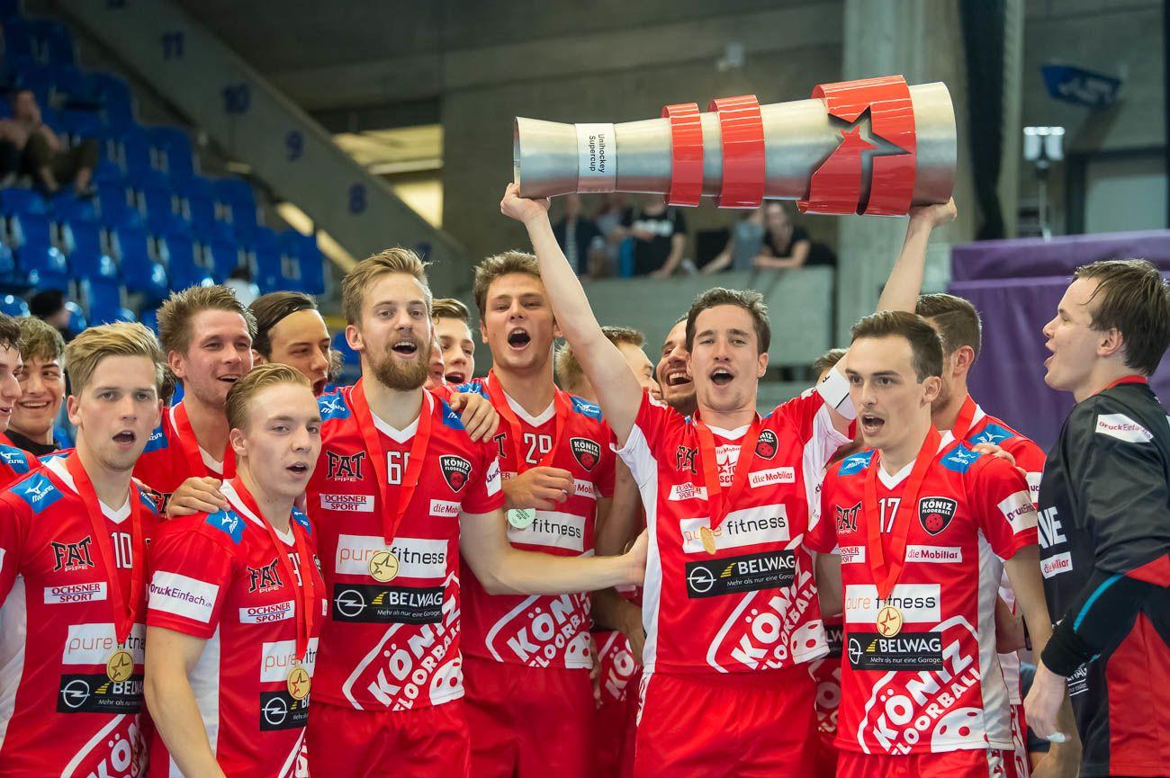 Supercup Sieger 2018 Floorball Köniz