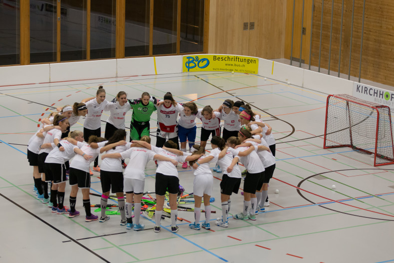 Nationalmannschaft Juniorinnen U17, Freundschaftsspiel vs Widnau Gators