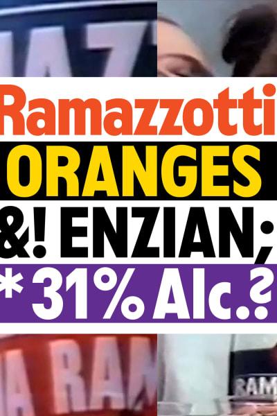 *Ramazzotti Custom Typeface* - © © Outofthedark, Swiss Design Awards Blog