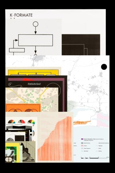 *Eine Auswahl an Diagrammen* - © © Roger Conscience, Swiss Design Awards Blog