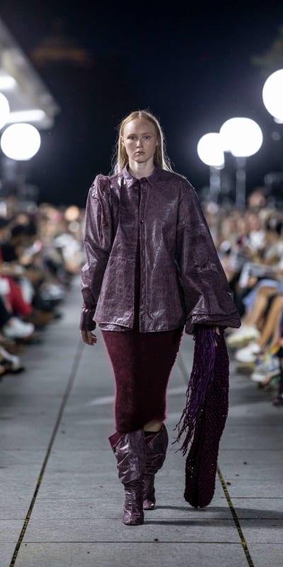 *Ça sent la sueur, l'herbe et la fatigue* - © HEAD, Mode Suisse, photo © Alexander Palacios, Swiss Design Awards Blog