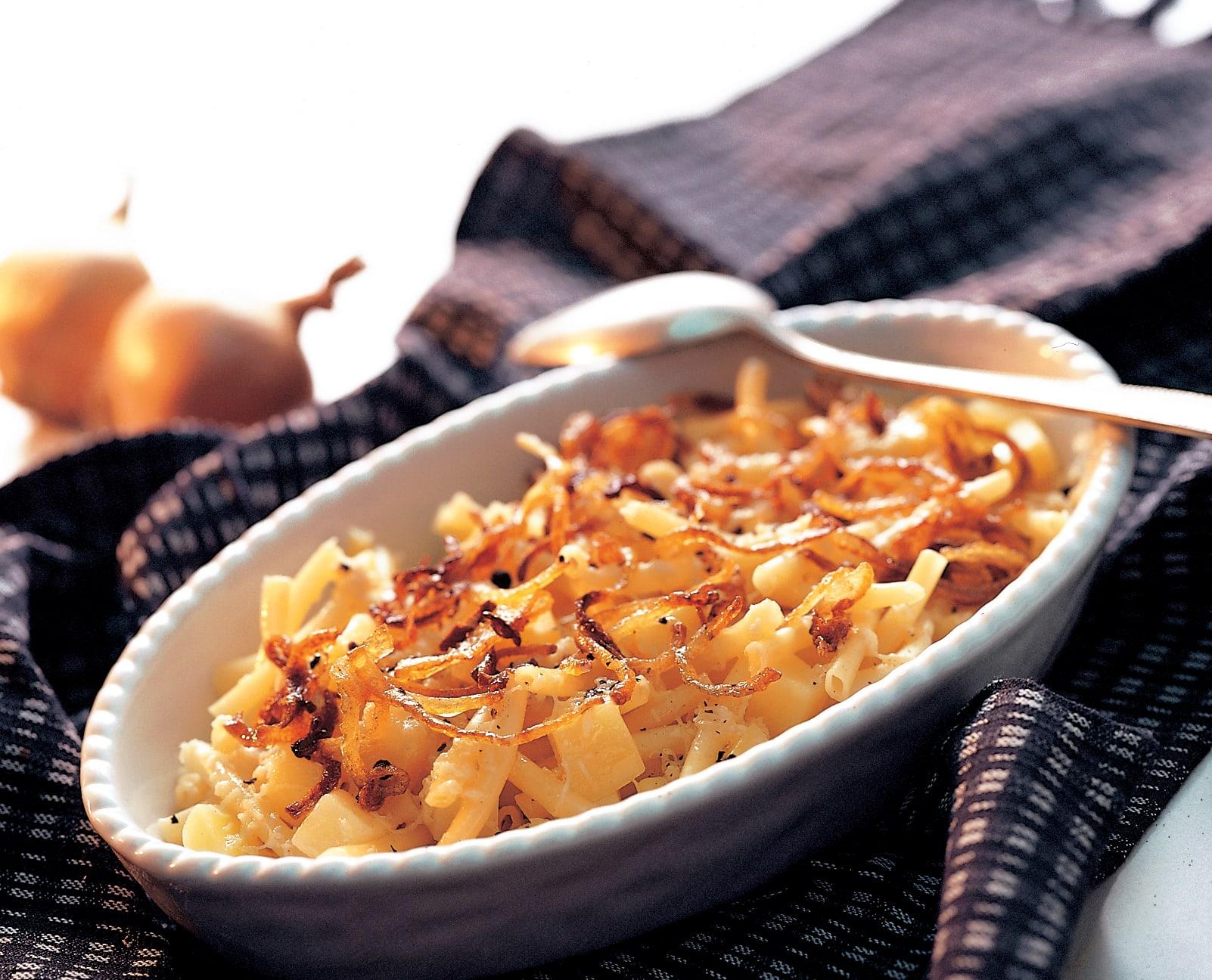 Macaroni du chalet (sans crème)