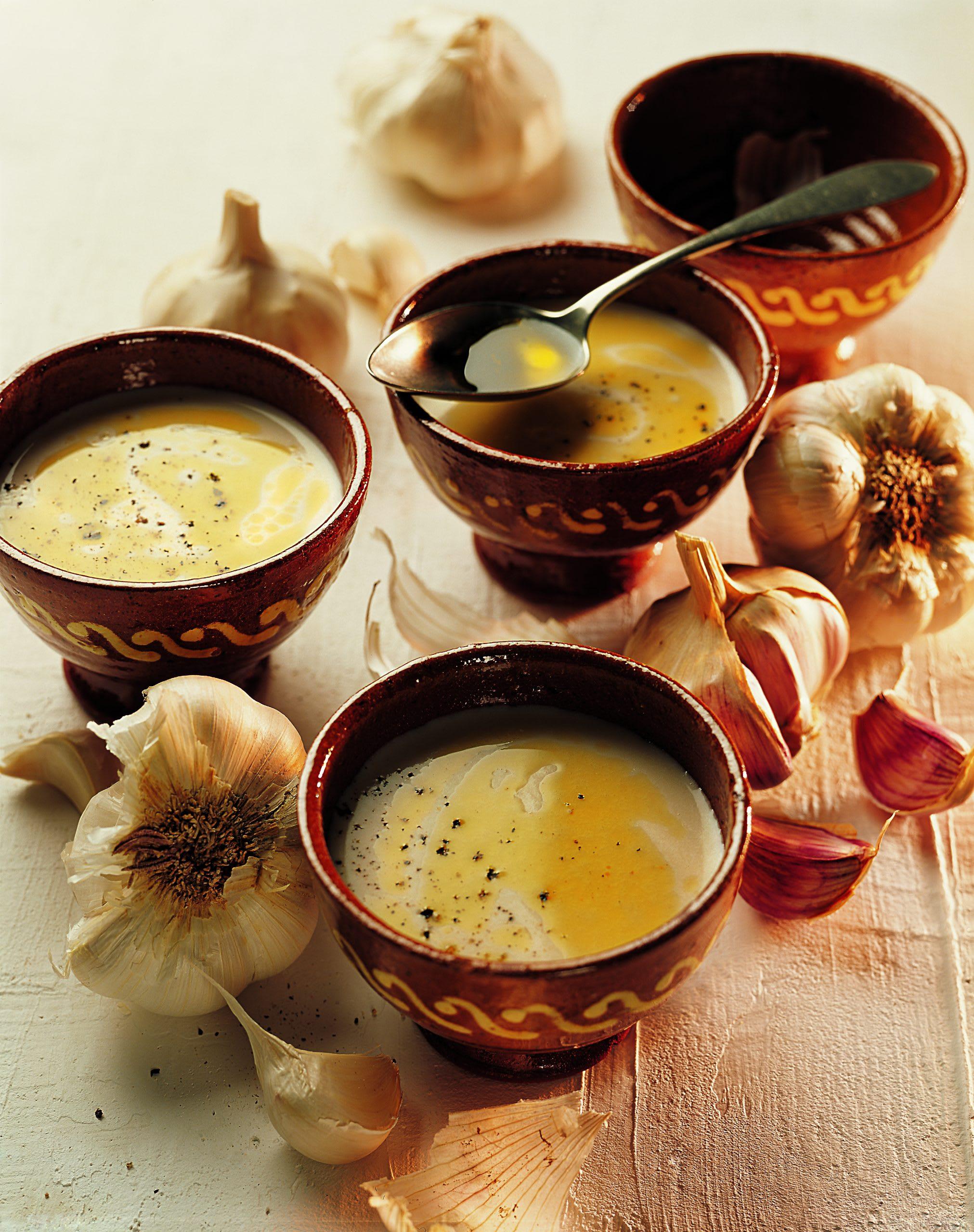 Ajoblanco (Kalte Knoblauch-Mandel-Suppe)