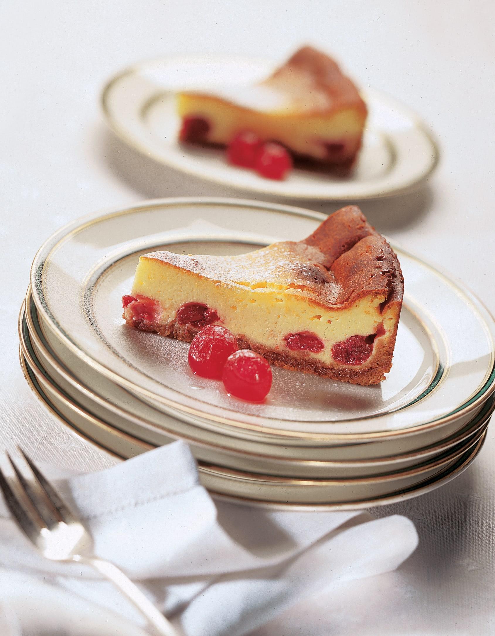 Amaretti-Quarkkuchen