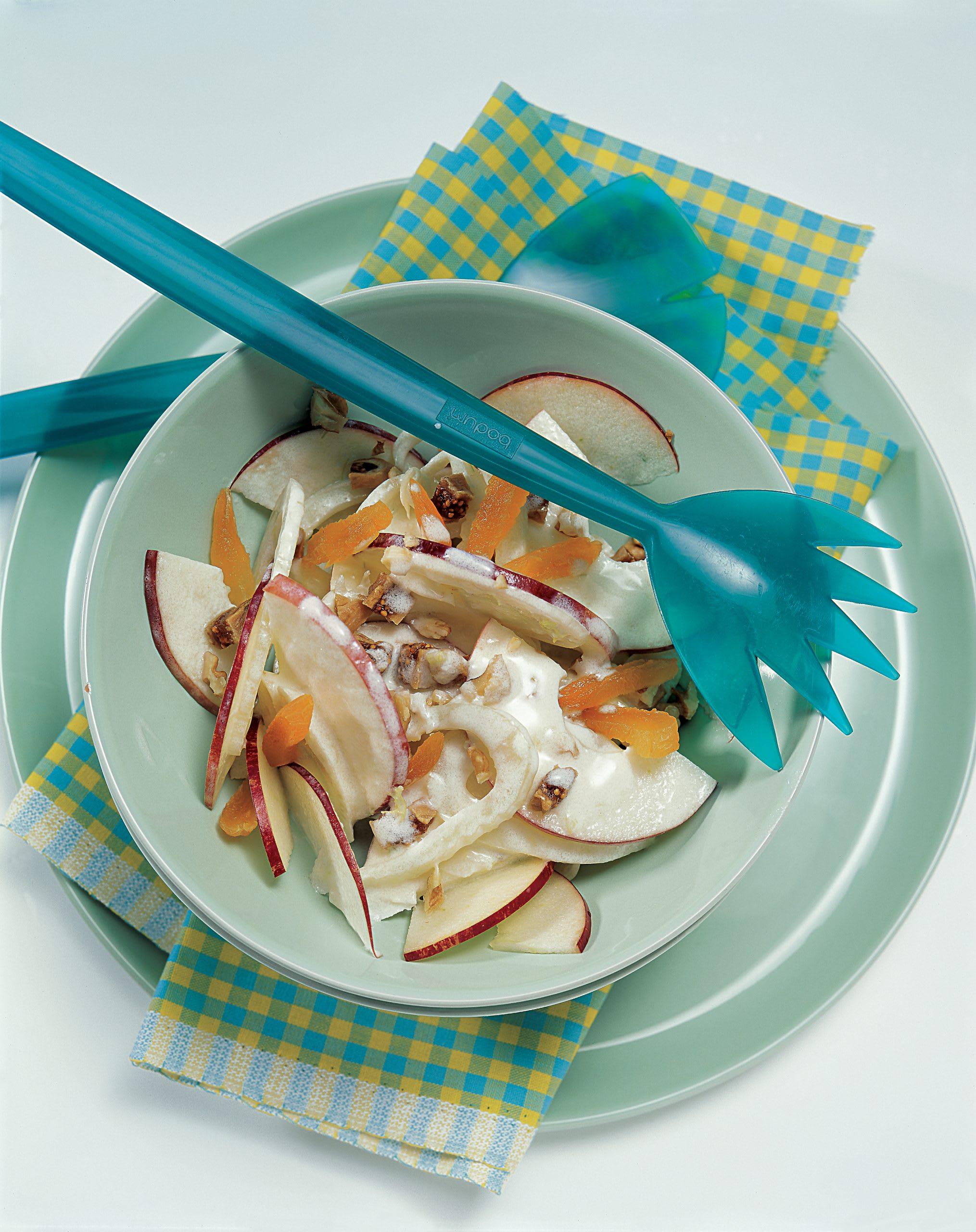 Salade pommes et fenouil