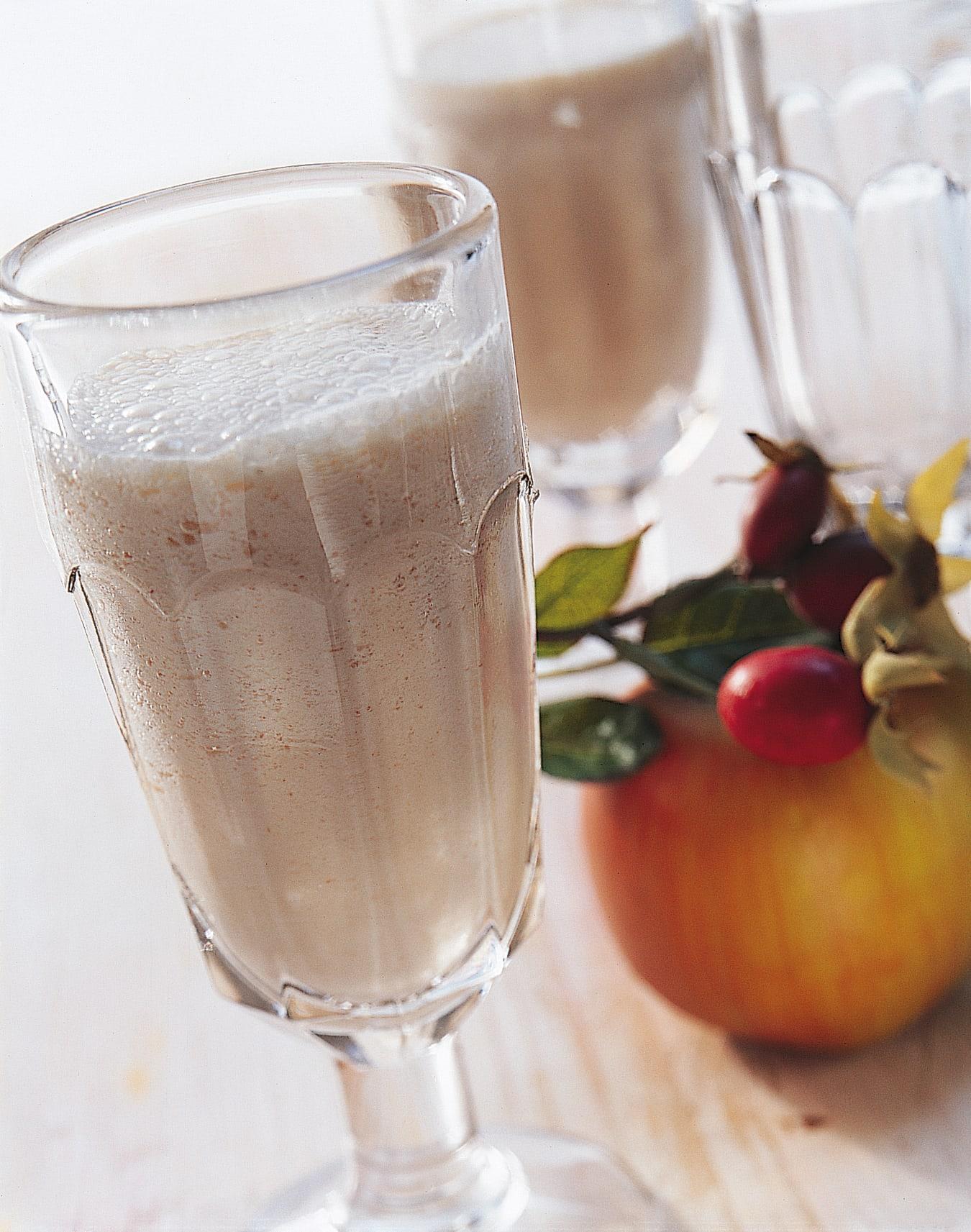 Milkshake aux pommes et au cynorrhodon