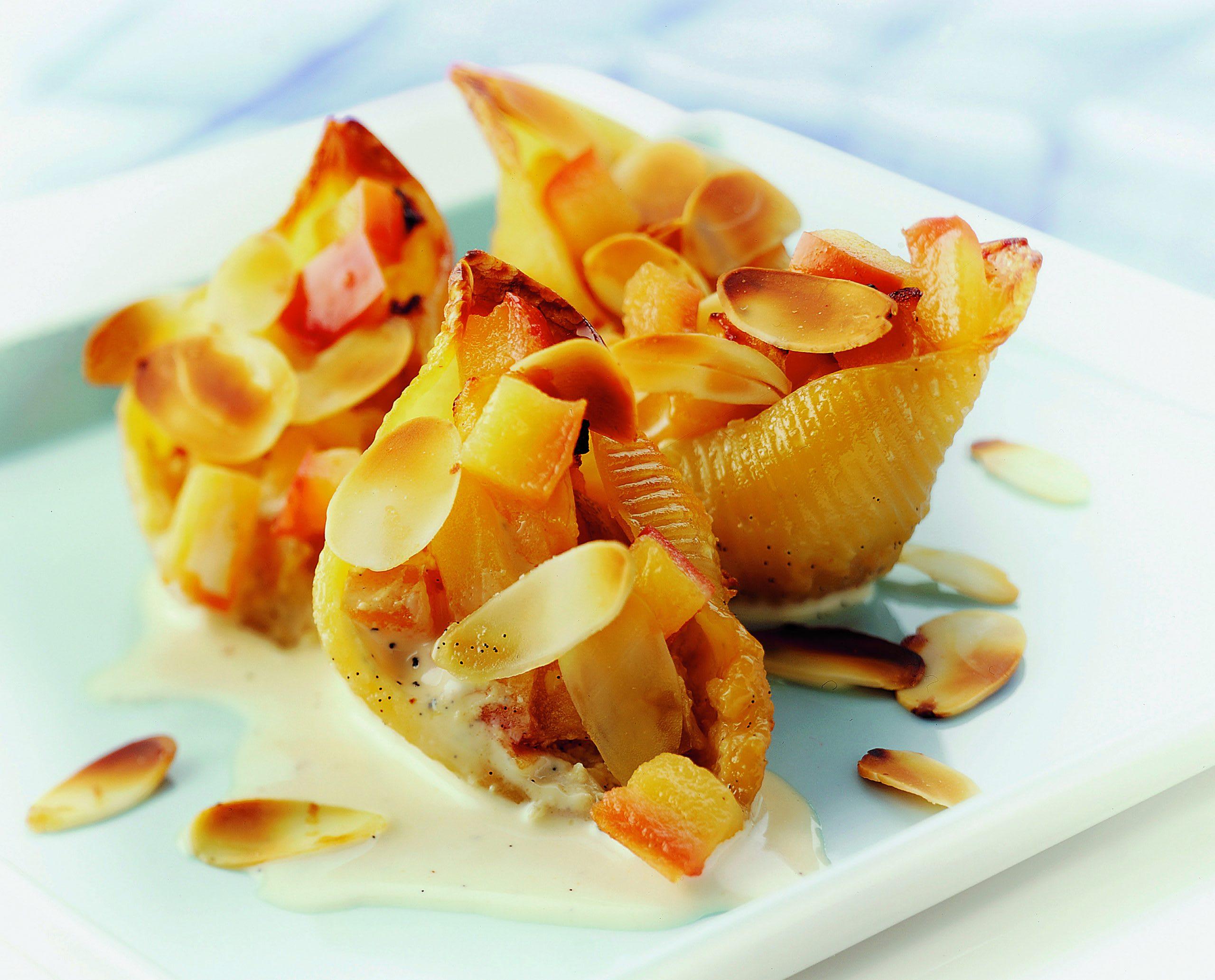 Coquilles aux pommes