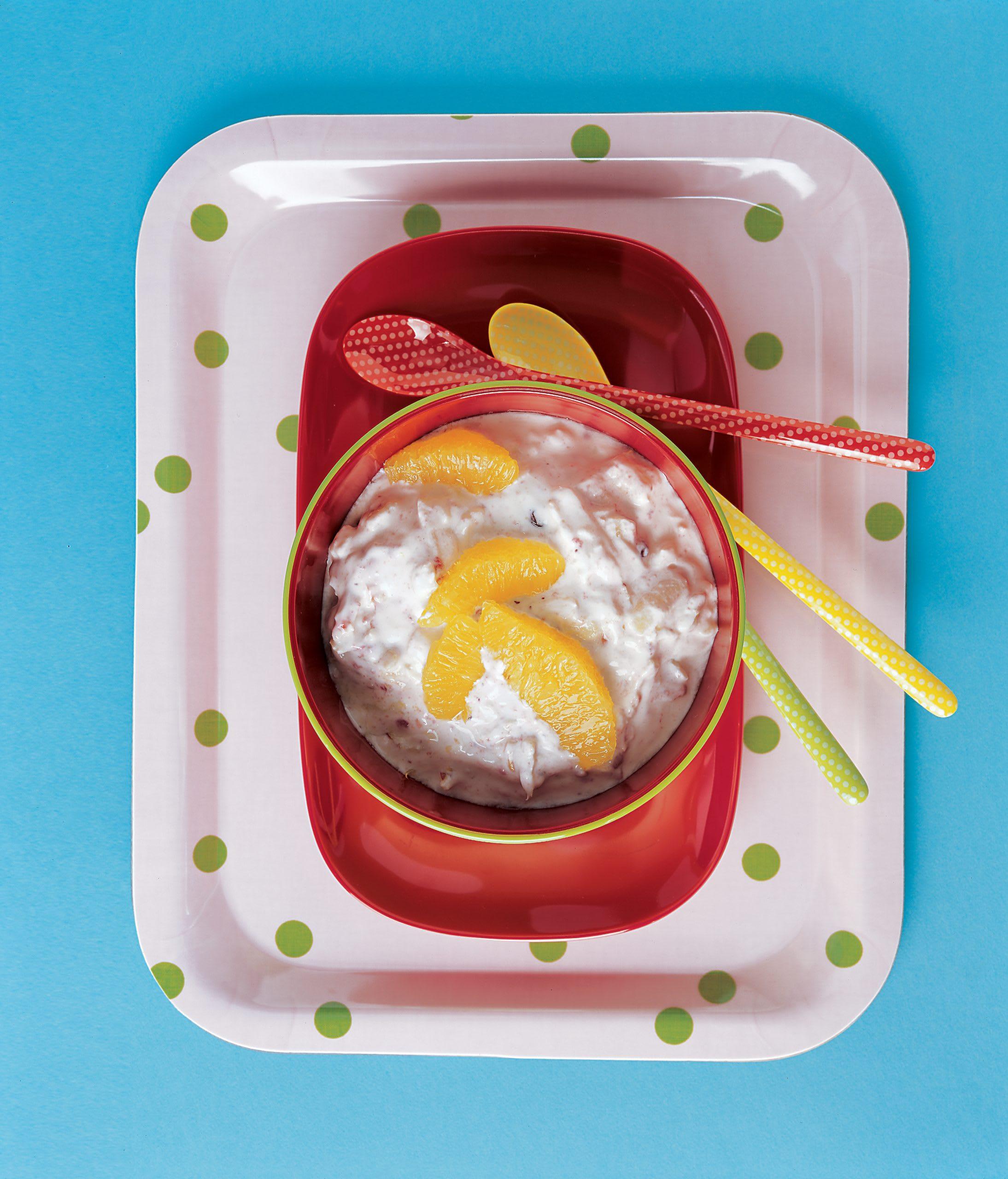 Apfel-Orangen-Joghurt (Low Carb)