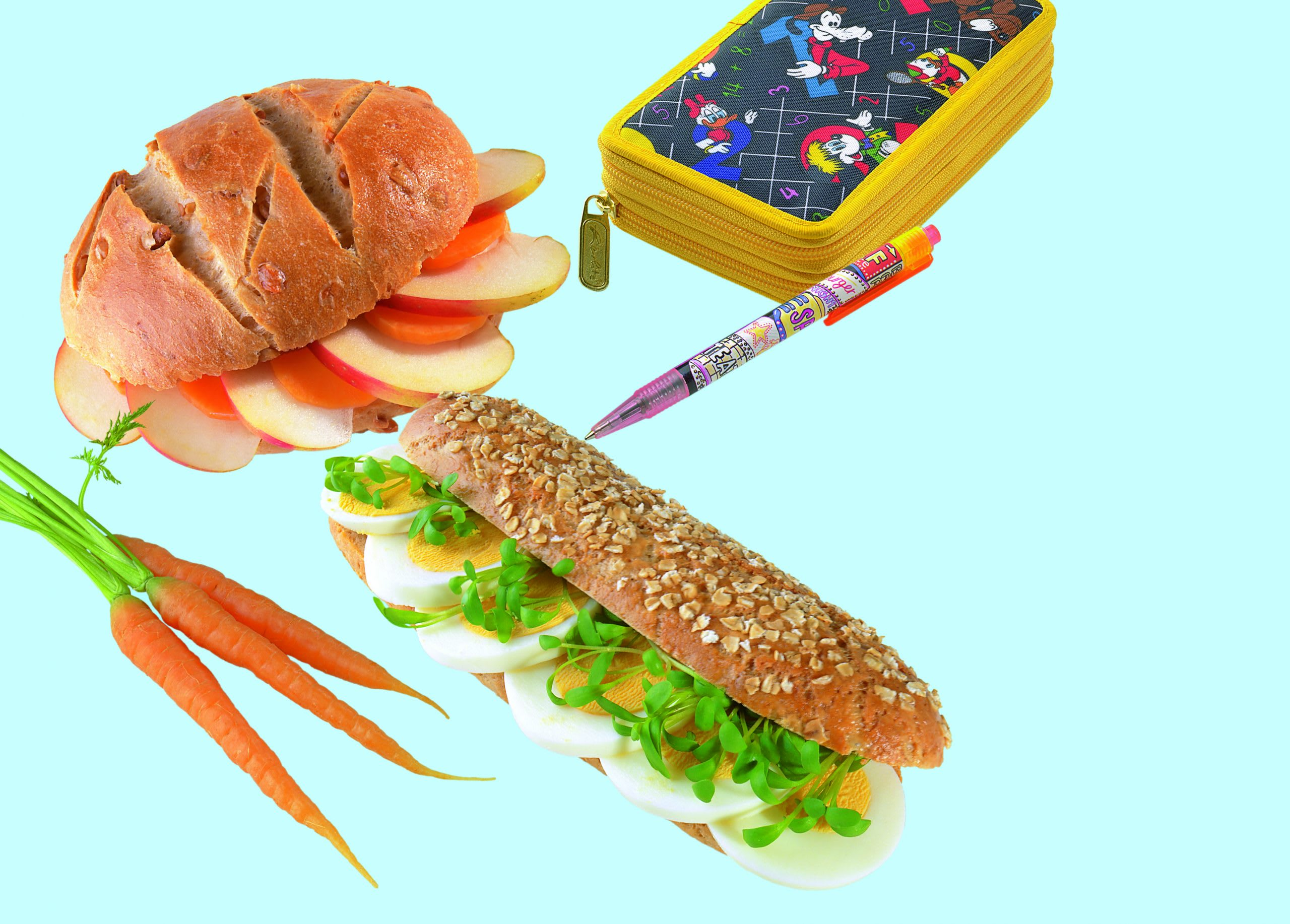 Sandwich pommes/carottes