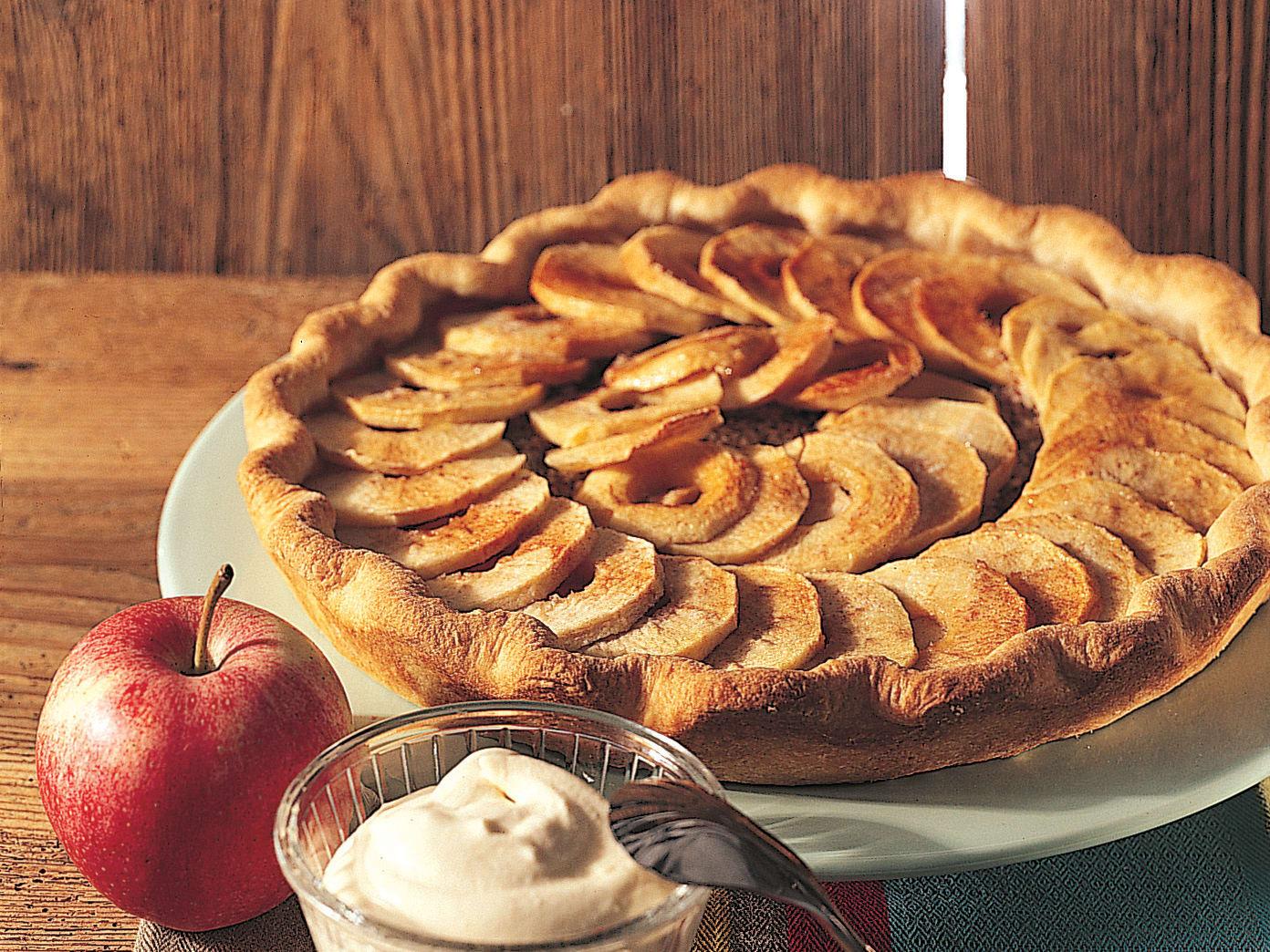 Tarte aux pommes à l'épeautre