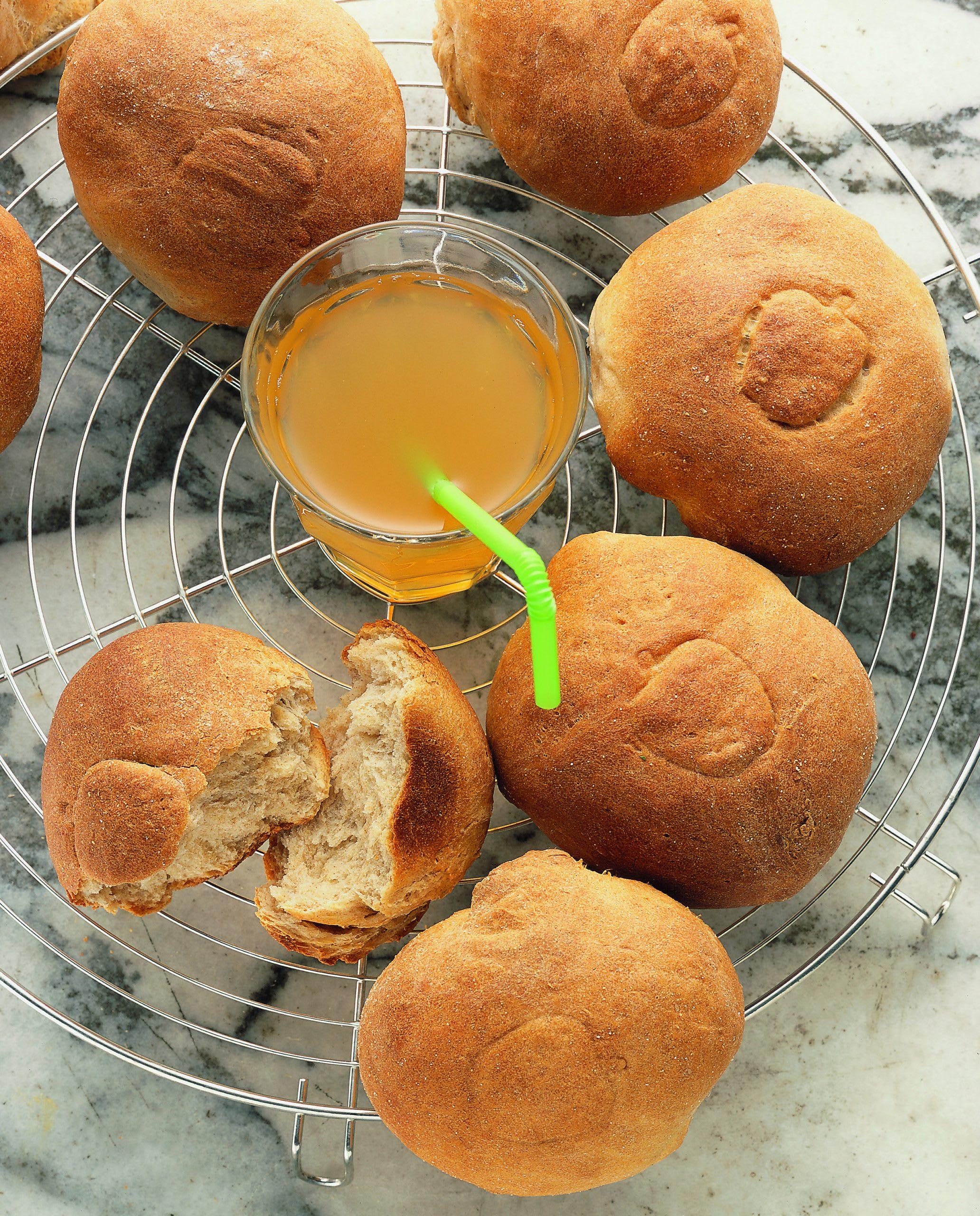 Apfelmost-Brötchen