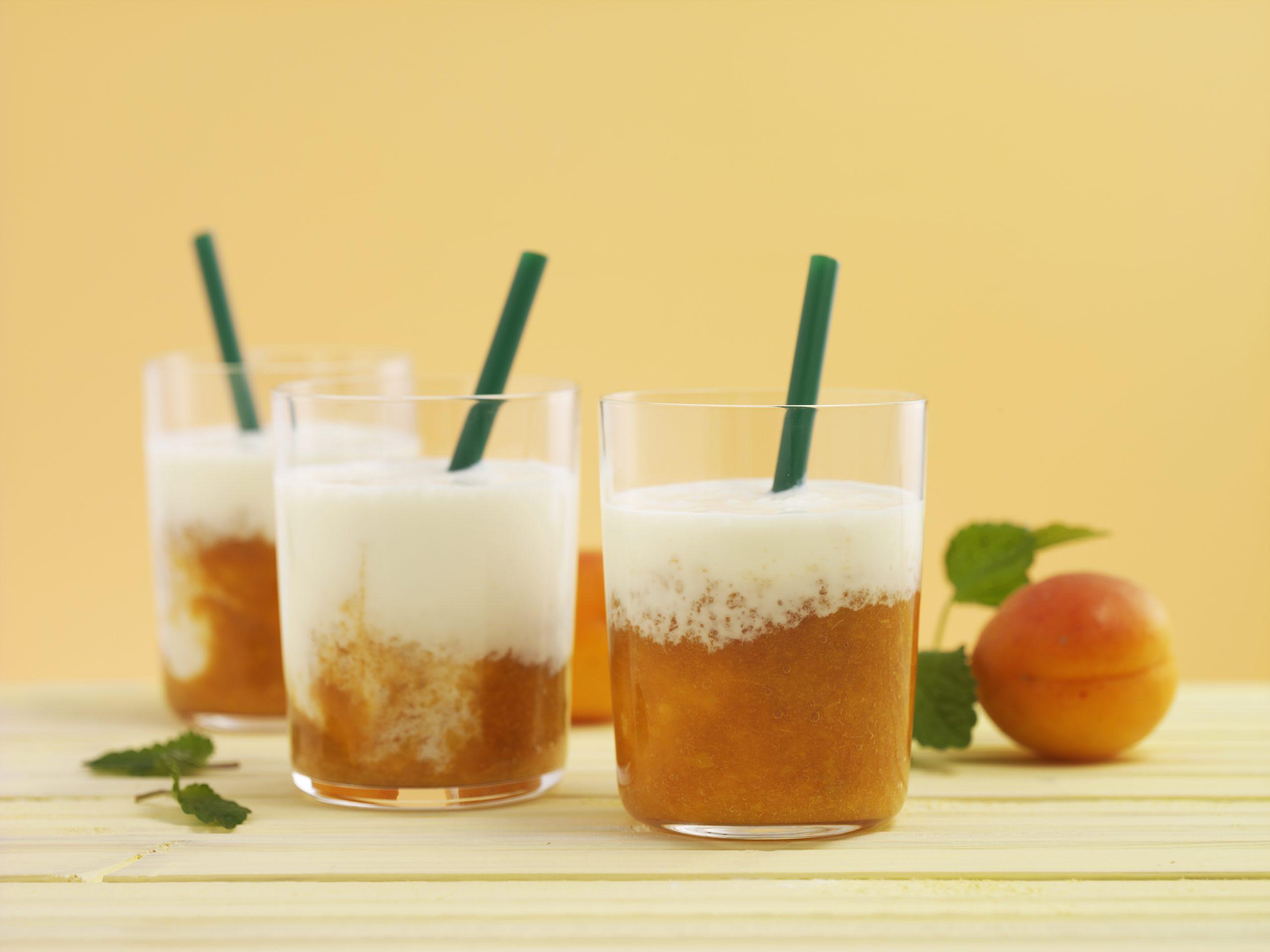 Smoothie abricot-vanille