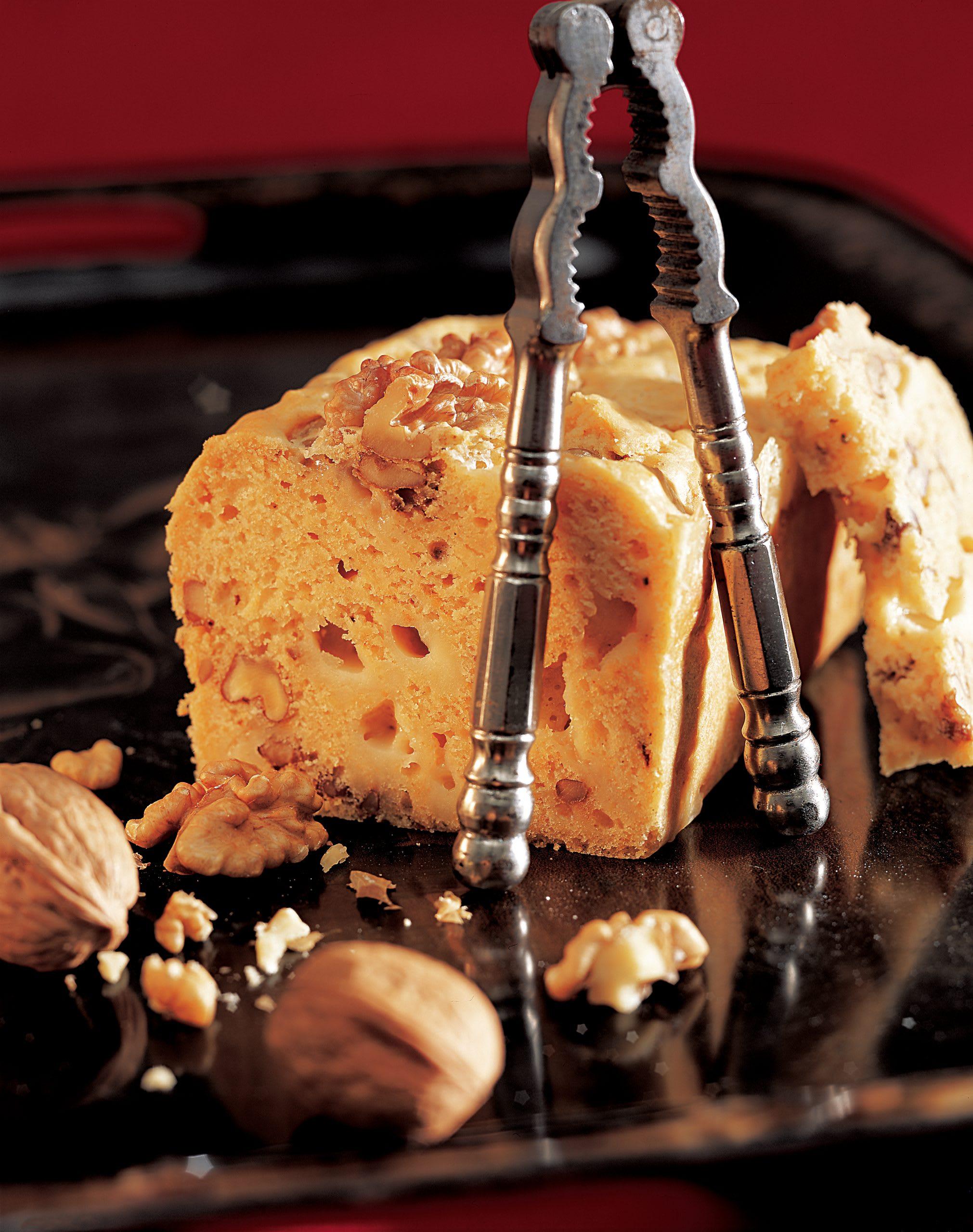 Baumnuss-Käse-Cake