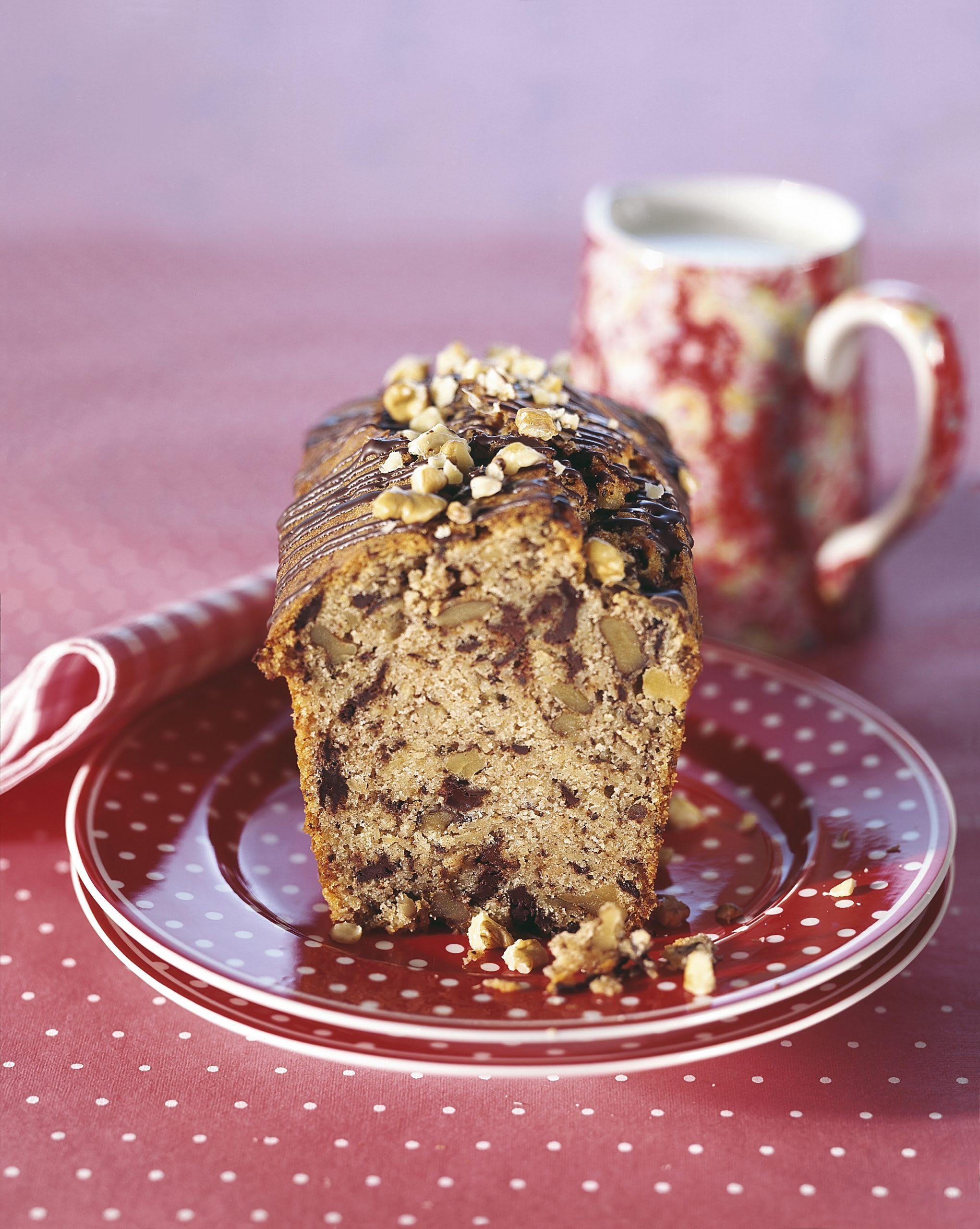 Baumnuss-Schokoladen-Cake