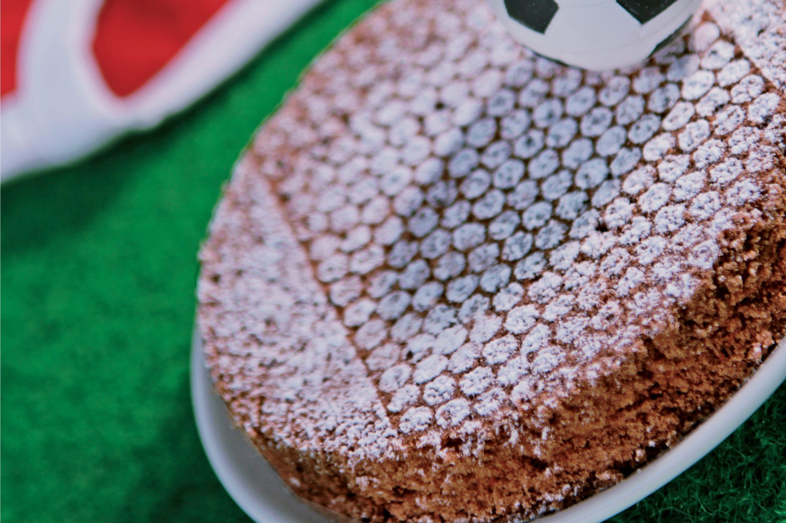 Gâteau brownies aux noix