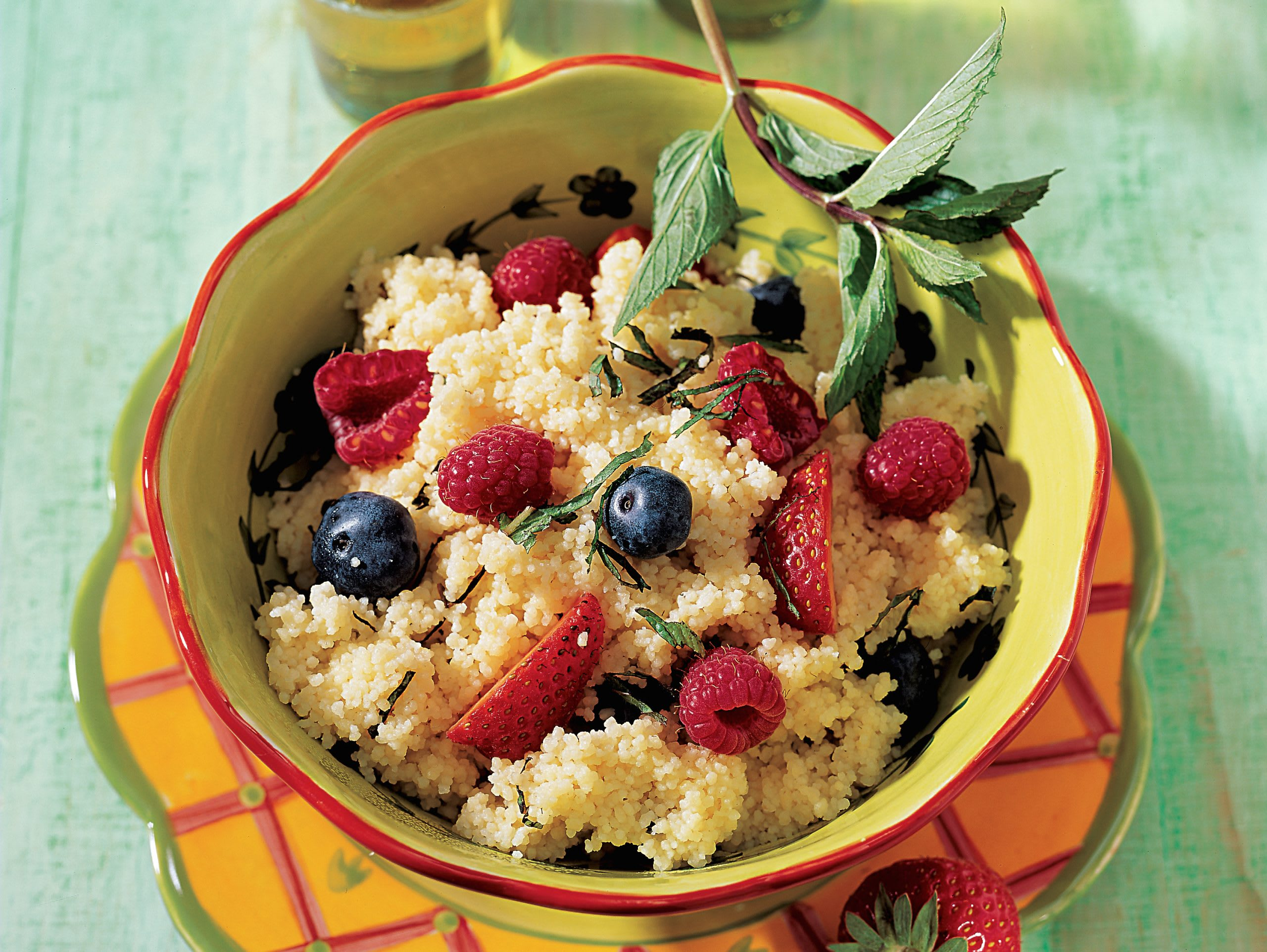 Couscous aux fruits rouges