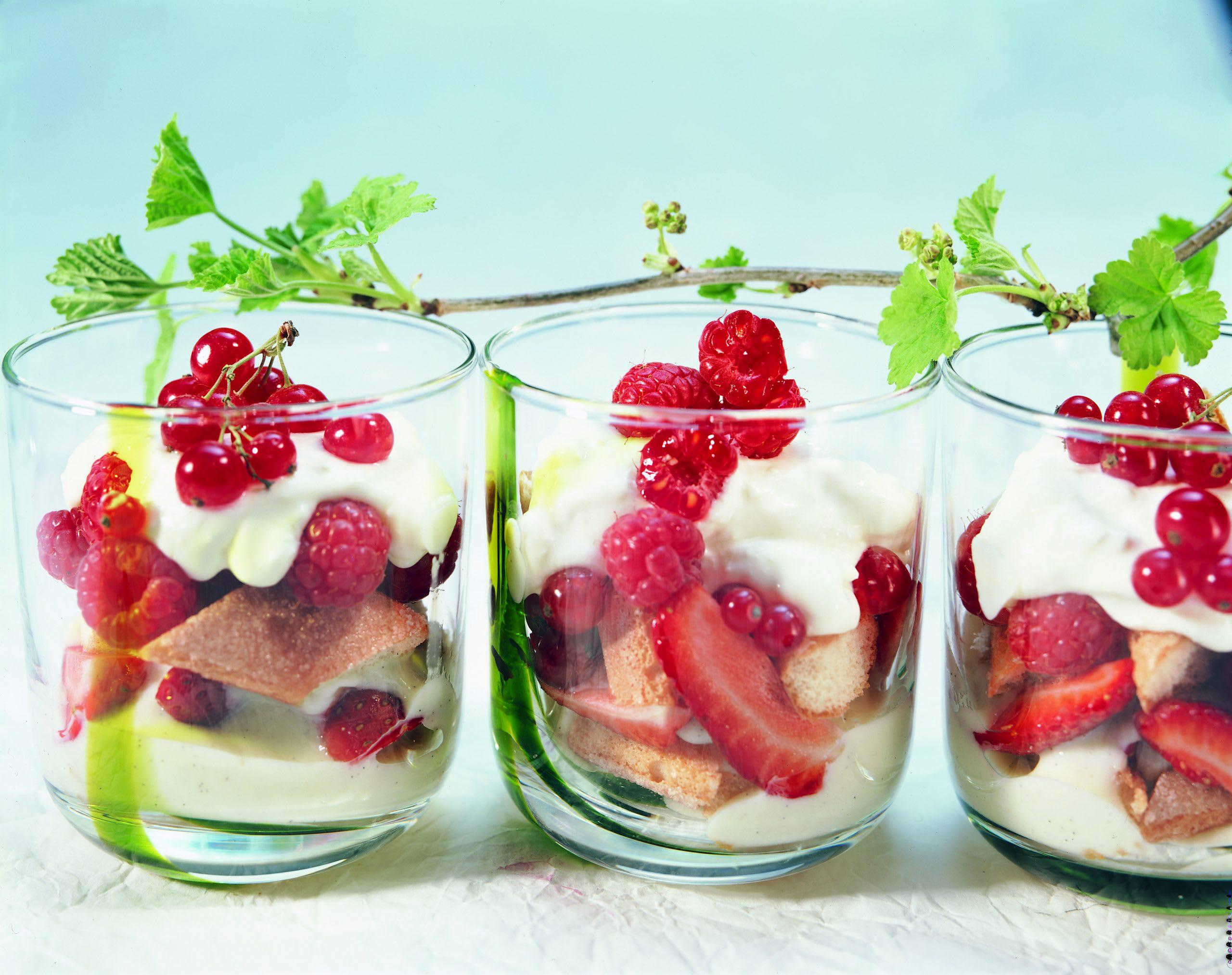 Trifle aux petits fruits