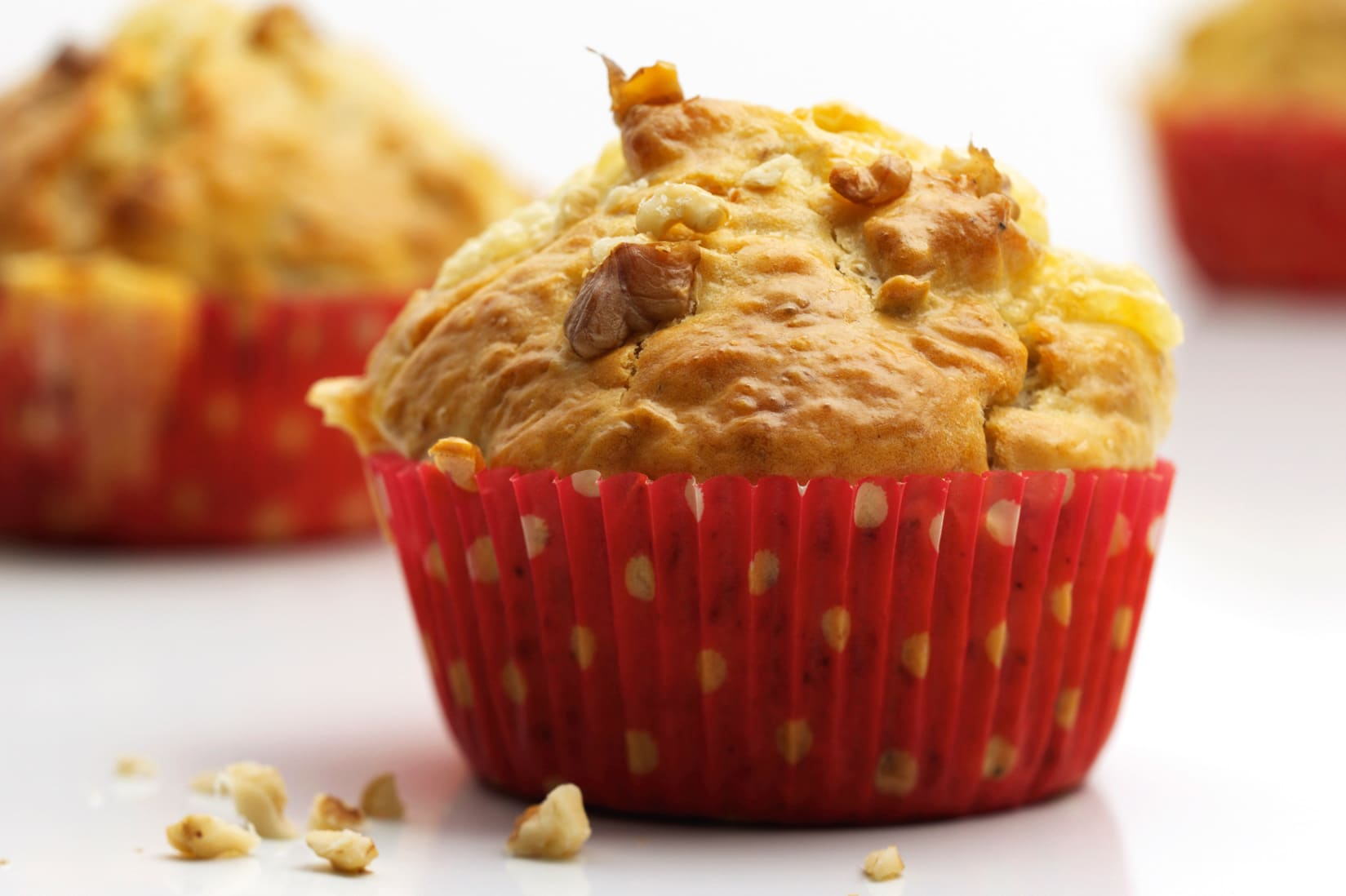 Muffins poires-fromage