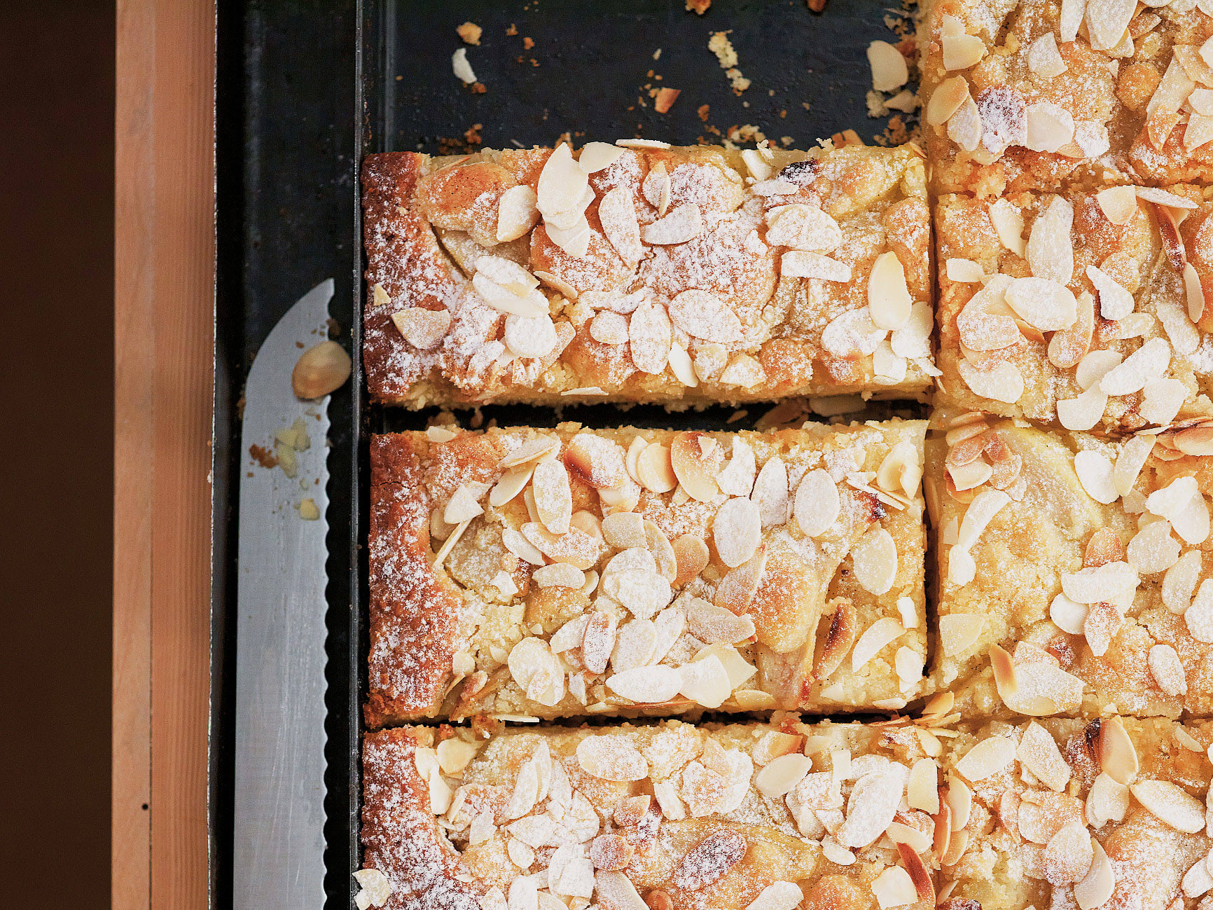 Gâteau crumble aux poires
