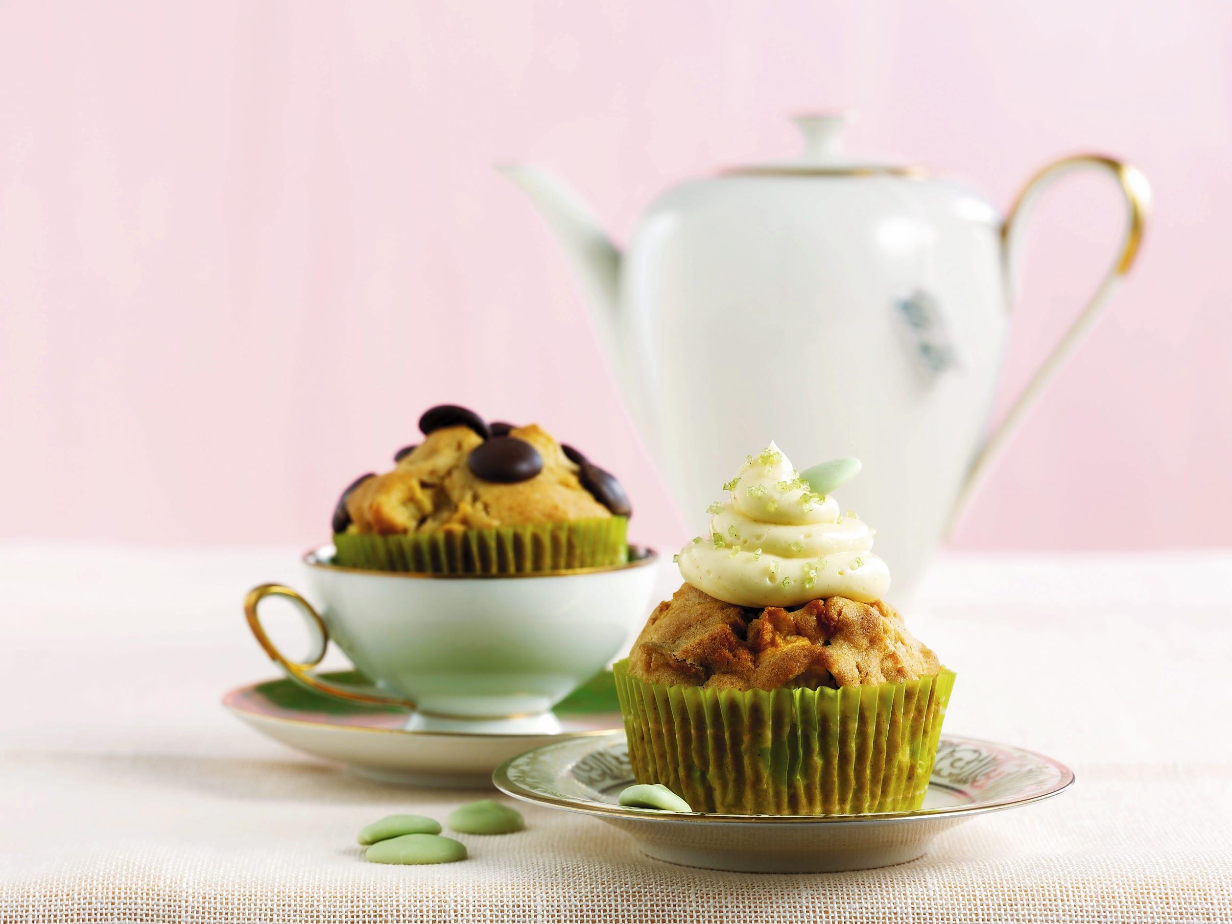Cupcakes poires-cannelle