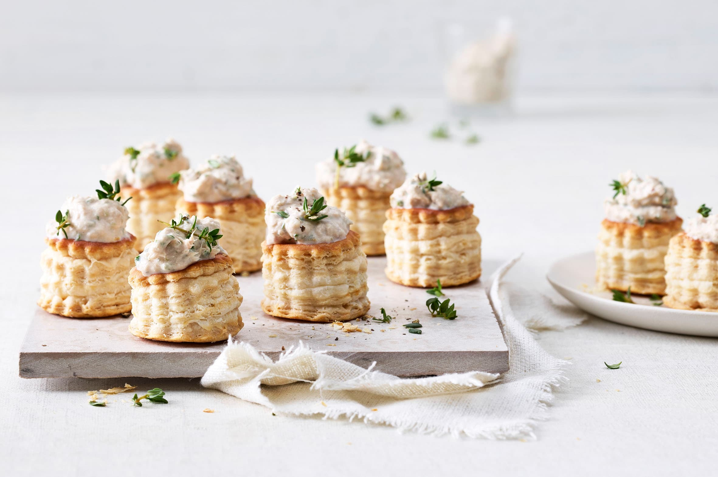 Mini vol-au-vent au thon