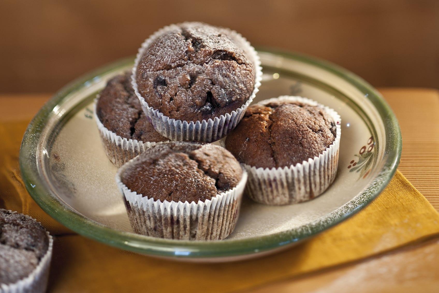 Blueberry Muffins mit Mandeln