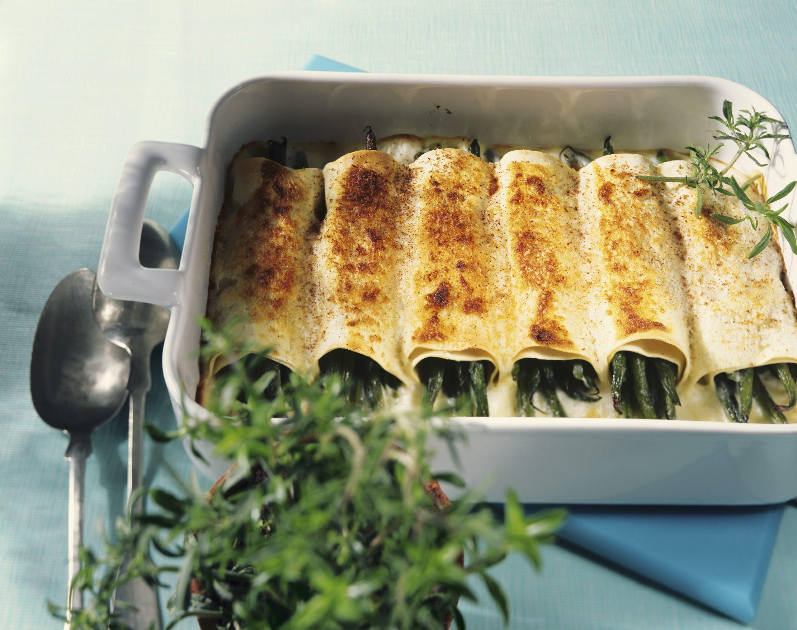 Cannelloni aux haricots