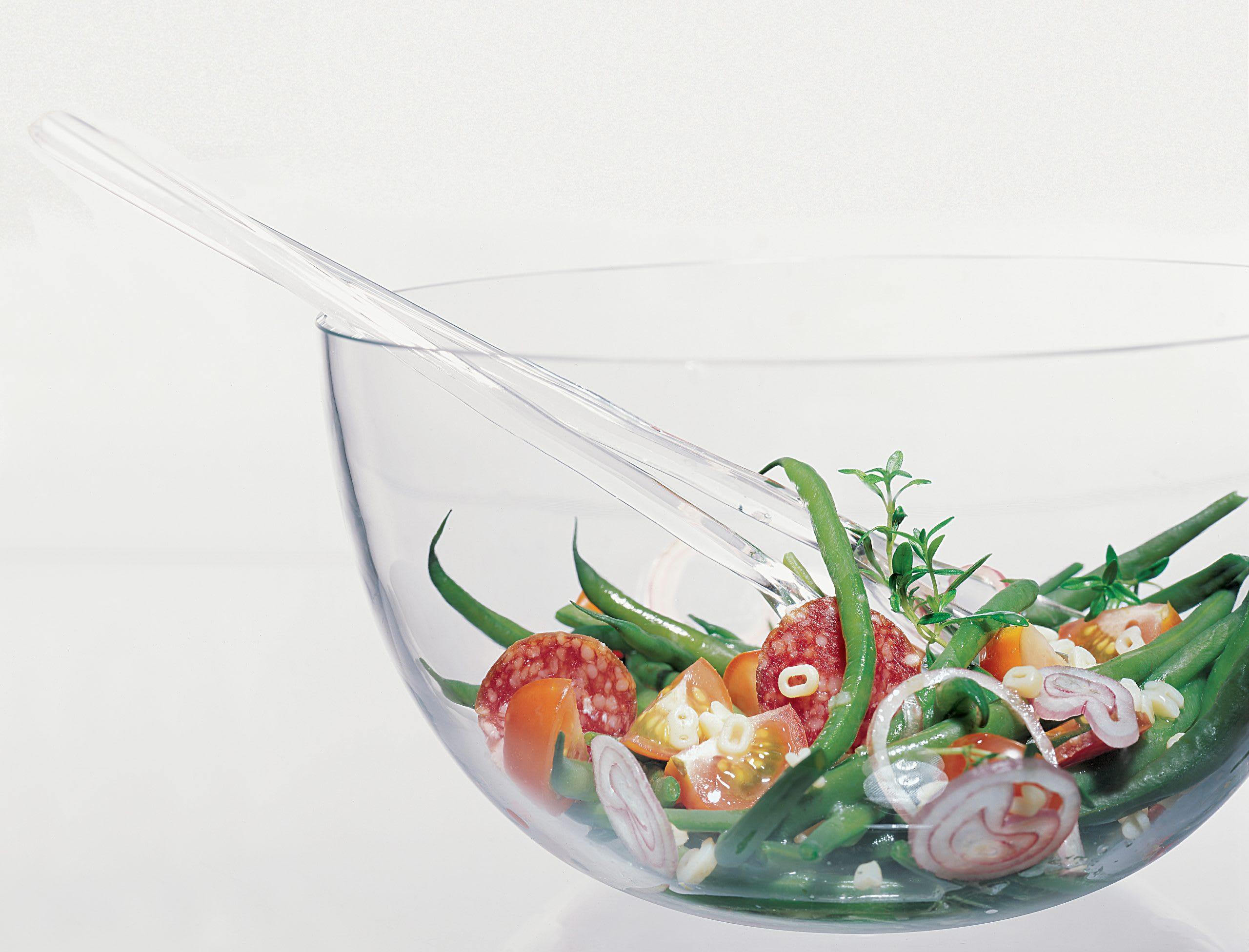 Bohnensalat mit Buchstaben-Vinaigrette