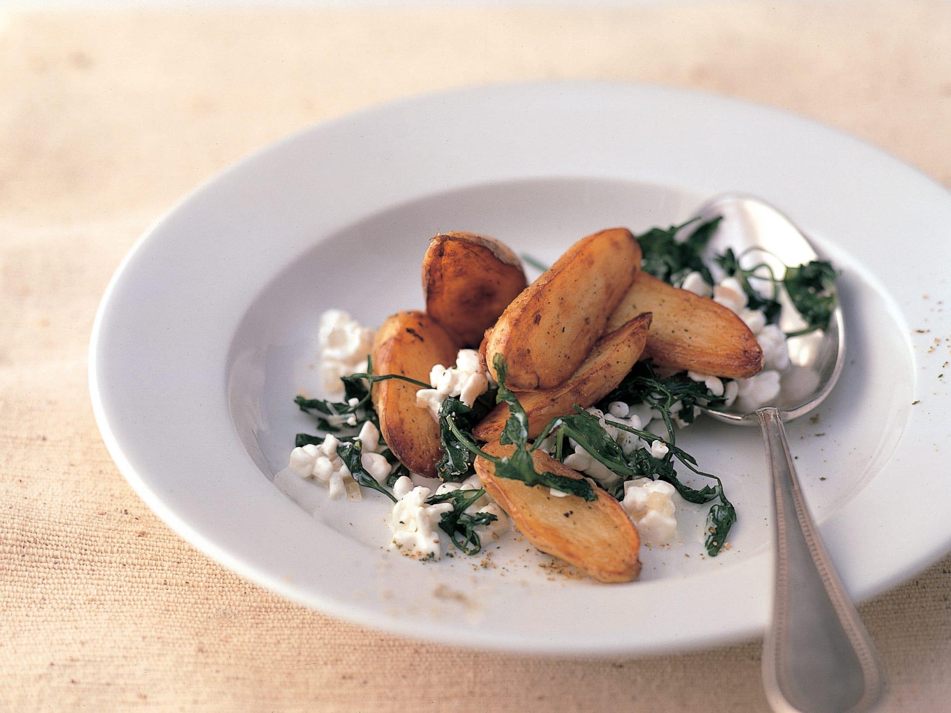 Pommes de terre rissolées au persil