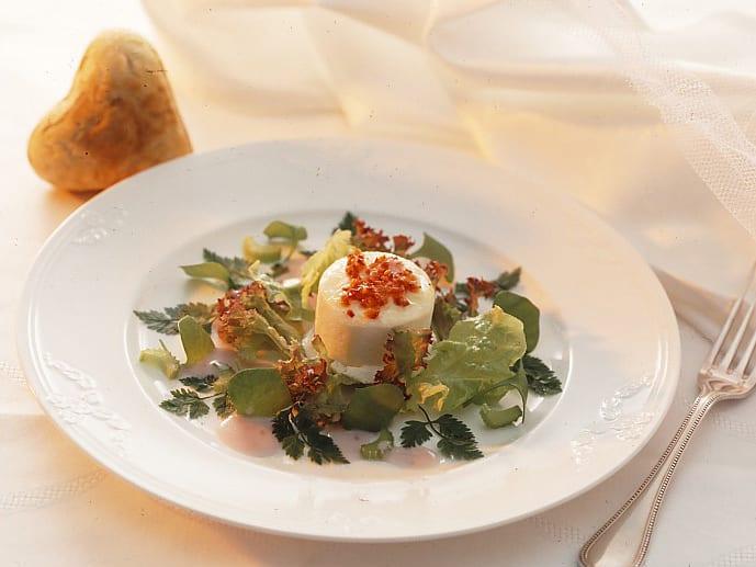 Brautsalat an Joghurt Dressing