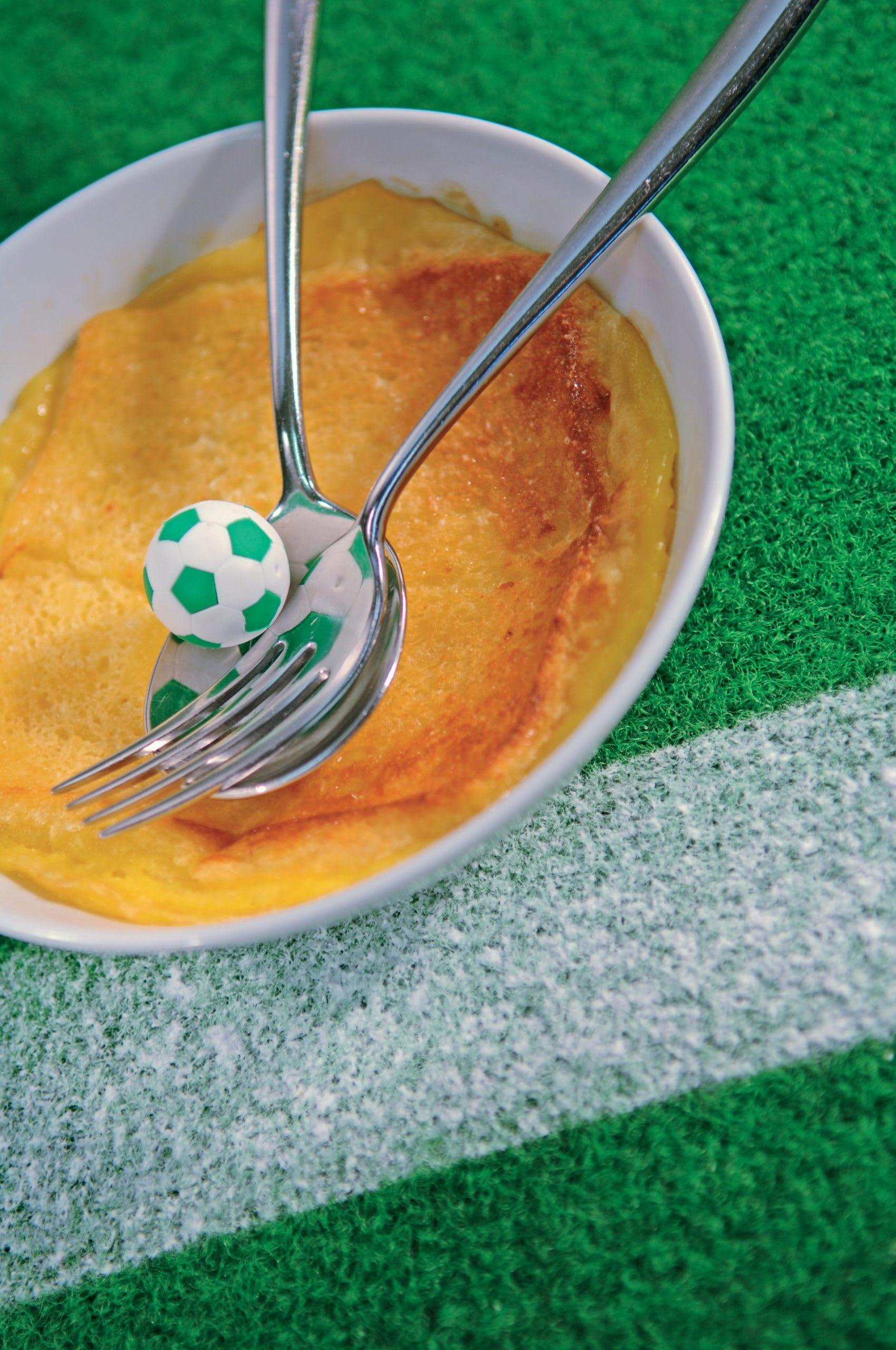 Pudding pain et beurre