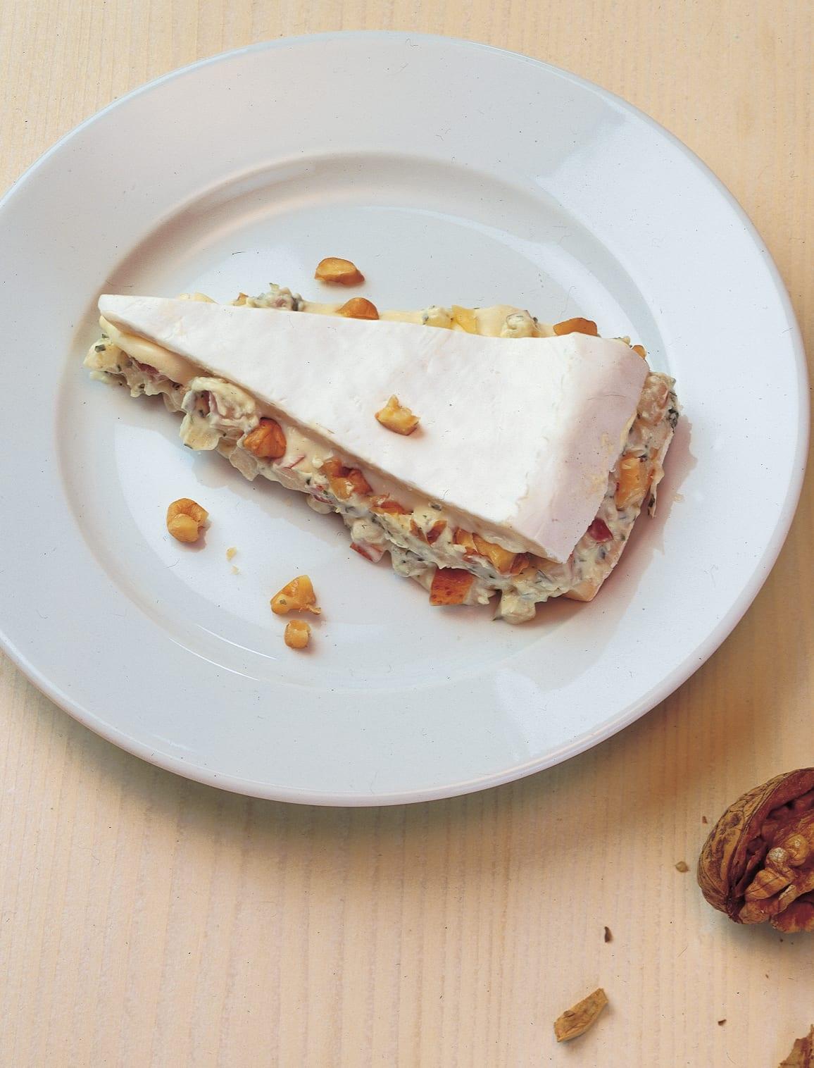 Brie suisse farci aux poires