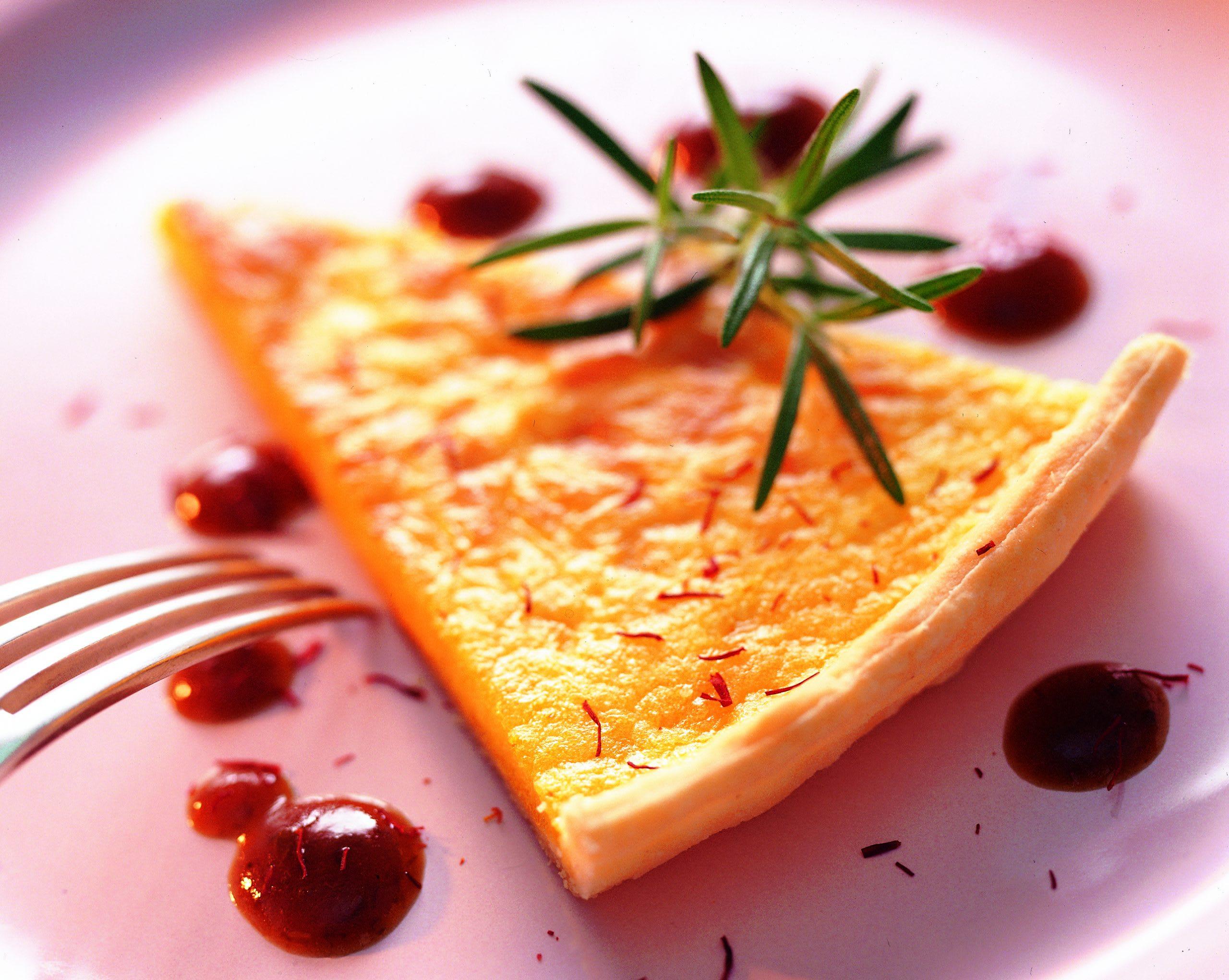 Tarte au brie et sauce aux pruneaux (low carb)