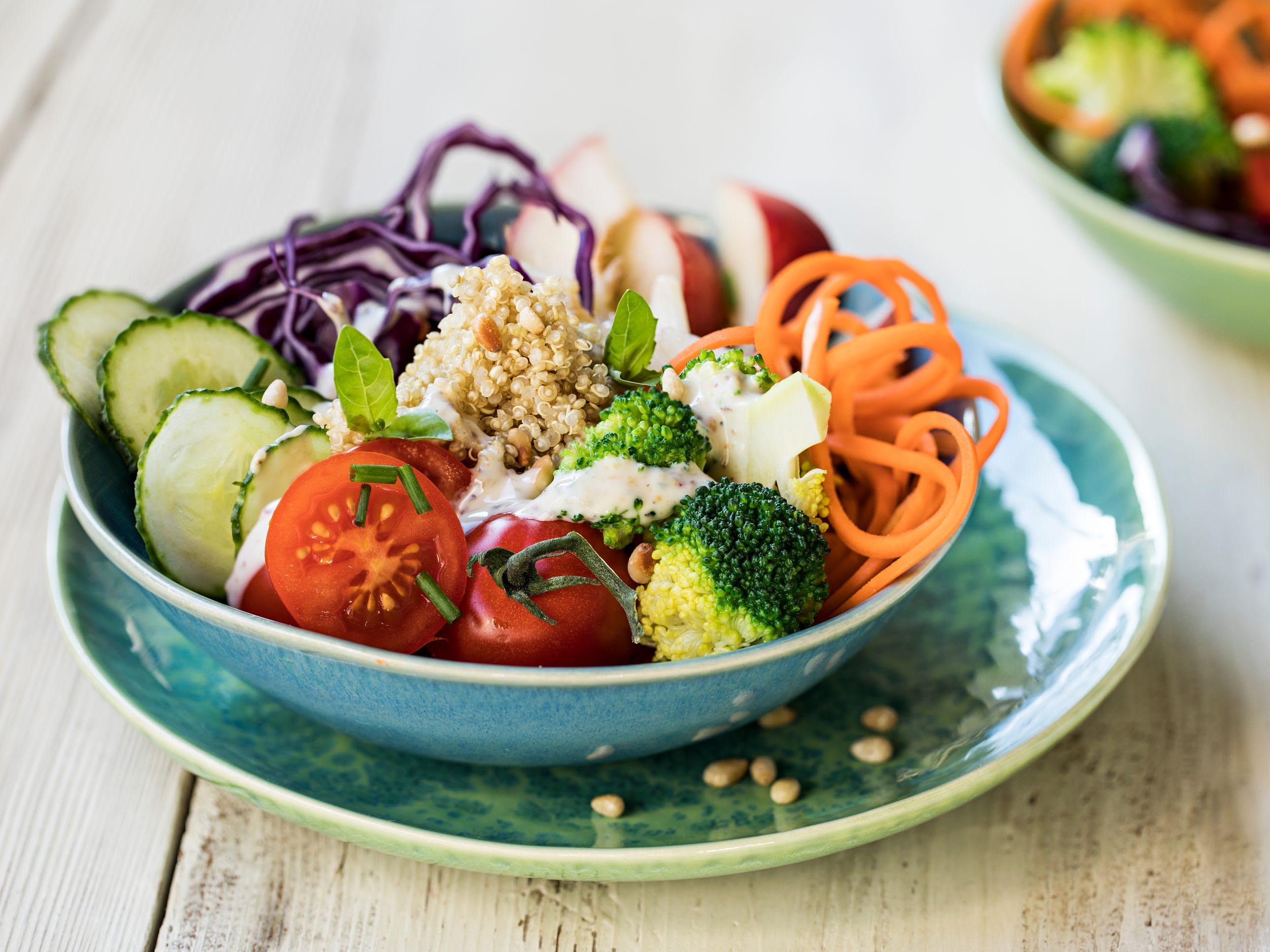 Buddha bowl végétarien