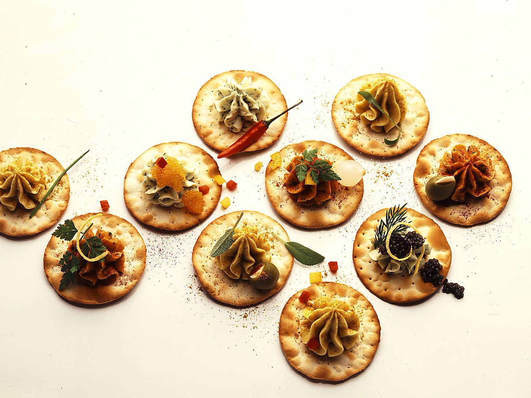 Bunte Crackers