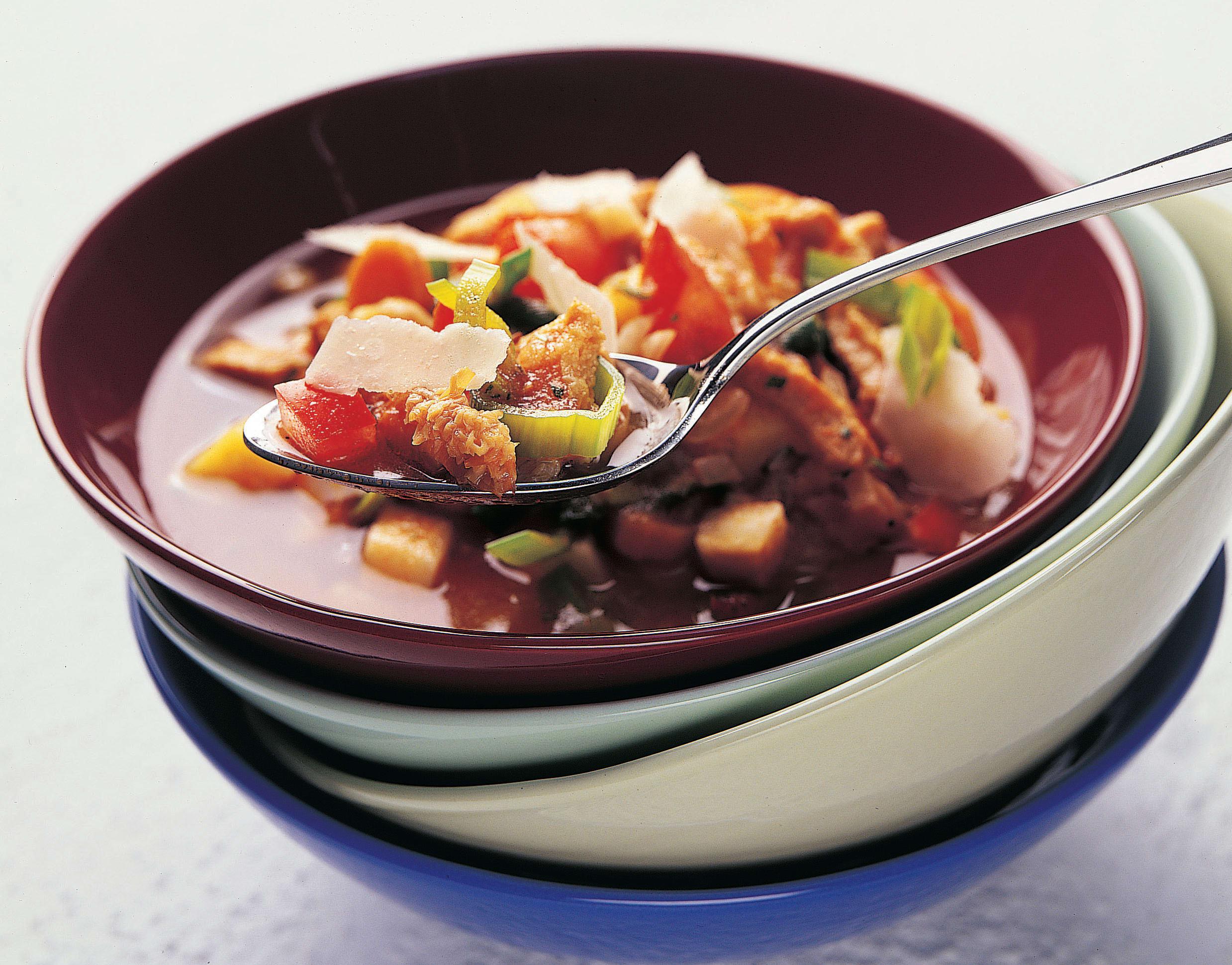 Busecca (soupe aux tripes tessinoise)