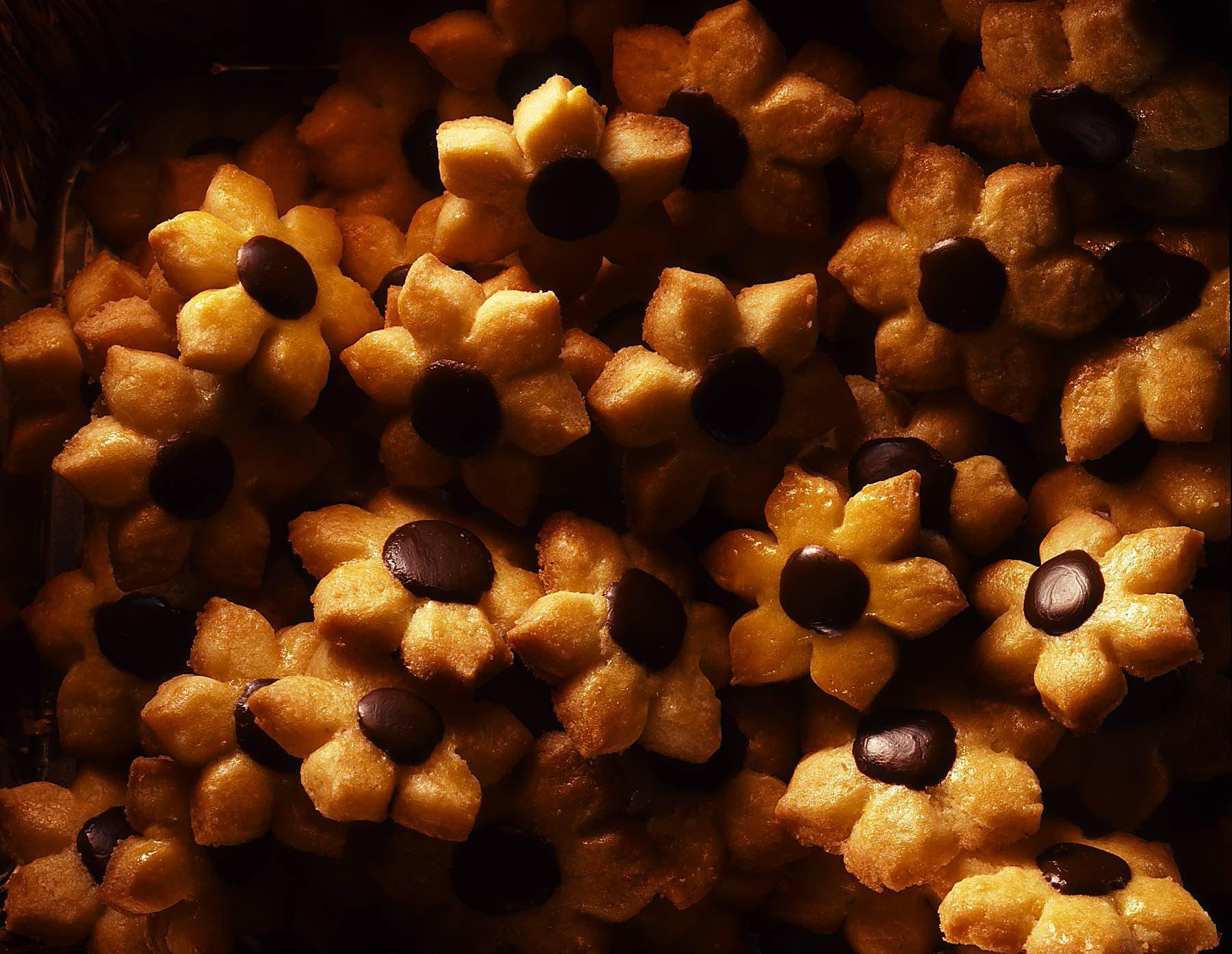 Biscuits fleurs au beurre