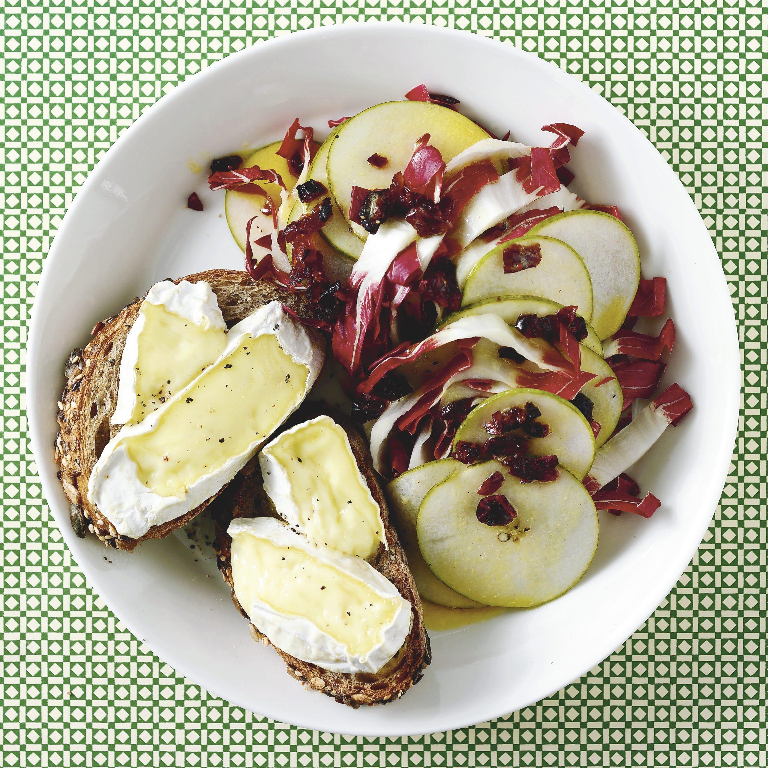 Tartines de camembert
