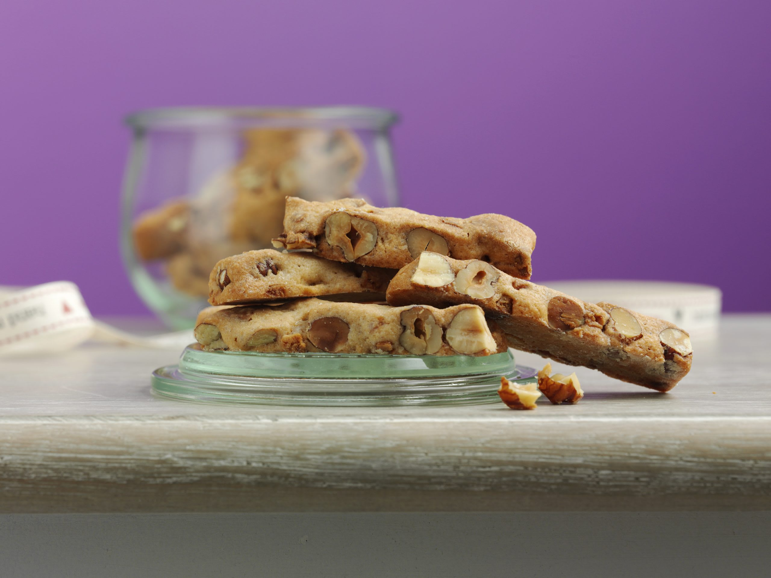 Caramel-Nussstängeli